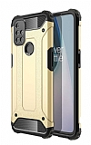 Tough Power One Plus Nord N10 5G Ultra Koruma Gold Kılıf