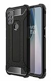 Tough Power One Plus Nord N10 5G Ultra Koruma Siyah Kılıf