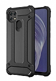 Tough Power Oppo A15 Ultra Koruma Siyah Kılıf