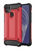 Tough Power Oppo A15 Ultra Koruma Kırmızı Kılıf