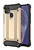 Tough Power Oppo A15 Ultra Koruma Gold Kılıf