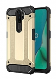 Tough Power Oppo A5 2020 Ultra Koruma Gold Kılıf