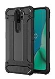 Tough Power Oppo A5 2020 Ultra Koruma Siyah Kılıf