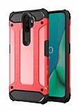 Tough Power Oppo A5 2020 Ultra Koruma Kırmızı Kılıf