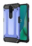 Tough Power Oppo A5 2020 Ultra Koruma Mavi Kılıf