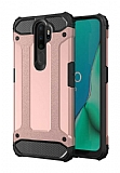 Tough Power Oppo A9 2020 Ultra Koruma Rose Gold Kılıf