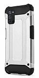 Tough Power Oppo A92 Ultra Koruma Silver Kılıf