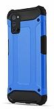 Tough Power Oppo A92 Ultra Koruma Mavi Kılıf