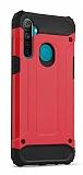Tough Power Realme 6i Ultra Koruma Kırmızı Kılıf