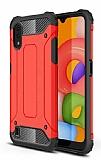 Tough Power Samsung Galaxy A01 Ultra Koruma Kırmızı Kılıf
