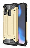Tough Power Samsung Galaxy A20 / A30 Ultra Koruma Gold Kılıf