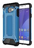 Tough Power Samsung Galaxy A3 2016 Ultra Koruma Mavi Kılıf