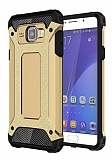 Tough Power Samsung Galaxy A3 2016 Ultra Koruma Gold Kılıf