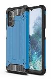 Tough Power Samsung Galaxy A32 5G Ultra Koruma Mavi Kılıf