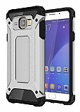 Tough Power Samsung Galaxy A5 2016 Ultra Koruma Silver Kılıf