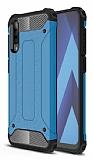 Tough Power Samsung Galaxy A50 Ultra Koruma Mavi Kılıf