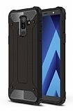 Tough Power Samsung Galaxy A6 Plus 2018 Ultra Koruma Siyah Kılıf
