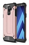Tough Power Samsung Galaxy A6 Plus 2018 Ultra Koruma Rose Gold Kılıf