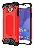Tough Power Samsung Galaxy A7 2016 Ultra Koruma Kırmızı Kılıf