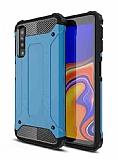 Tough Power Samsung Galaxy A7 2018 Ultra Koruma Mavi Kılıf
