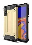 Tough Power Samsung Galaxy A7 2018 Ultra Koruma Gold Kılıf