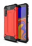 Tough Power Samsung Galaxy A7 2018 Ultra Koruma Kırmızı Kılıf