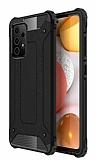 Tough Power Samsung Galaxy A72 Ultra Koruma Siyah Kılıf
