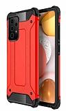 Tough Power Samsung Galaxy A72 Ultra Koruma Kırmızı Kılıf
