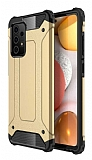 Tough Power Samsung Galaxy A72 Ultra Koruma Gold Kılıf