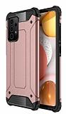 Tough Power Samsung Galaxy A72 Ultra Koruma Rose Gold Kılıf