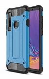 Tough Power Samsung Galaxy A9 2018 Ultra Koruma Mavi Kılıf