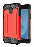 Tough Power Samsung Galaxy J3 Pro 2017 Ultra Koruma Kırmızı Kılıf