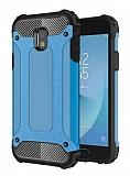 Tough Power Samsung Galaxy J3 Pro 2017 Ultra Koruma Mavi Kılıf