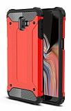 Tough Power Samsung Galaxy J6 Plus Ultra Koruma Kırmızı Kılıf