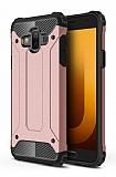 Tough Power Samsung Galaxy J7 Duo Ultra Koruma Rose Gold Kılıf