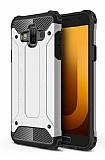 Tough Power Samsung Galaxy J7 Duo Ultra Koruma Silver Kılıf