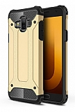 Tough Power Samsung Galaxy J7 Duo Ultra Koruma Gold Kılıf