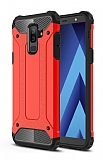 Tough Power Samsung Galaxy J8 Ultra Koruma Kırmızı Kılıf