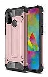 Tough Power Samsung Galaxy M30S Ultra Koruma Rose Gold Kılıf