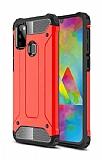Tough Power Samsung Galaxy M30S Ultra Koruma Kırmızı Kılıf