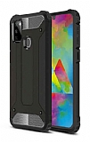 Tough Power Samsung Galaxy M30S Ultra Koruma Siyah Kılıf