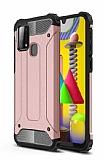 Tough Power Samsung Galaxy M31 Ultra Koruma Rose Gold Kılıf