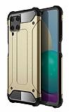 Tough Power Samsung Galaxy M32 Ultra Koruma Gold Kılıf