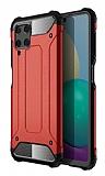 Tough Power Samsung Galaxy M32 Ultra Koruma Kırmızı Kılıf