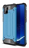 Tough Power Samsung Galaxy Note 10 Lite Ultra Koruma Mavi Kılıf