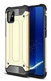 Tough Power Samsung Galaxy Note 10 Lite Ultra Koruma Gold Kılıf