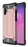 Tough Power Samsung Galaxy Note 10 Plus Ultra Koruma Rose Gold Kılıf