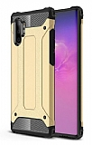Tough Power Samsung Galaxy Note 10 Plus Ultra Koruma Gold Kılıf