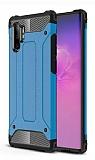 Tough Power Samsung Galaxy Note 10 Plus Ultra Koruma Mavi Kılıf