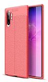 Dafoni Liquid Shield Premium Samsung Galaxy Note 10 Plus Kırmızı Silikon Kılıf